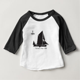 Camiseta Para Bebê 1889 barca do spritsail - fernandes tony