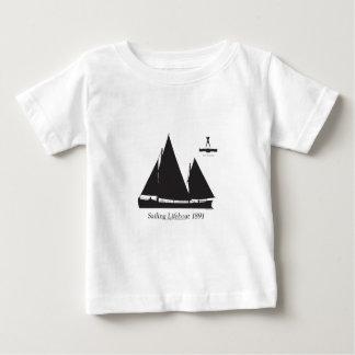 Camiseta Para Bebê 1891 barcos salva-vidas de navigação - fernandes
