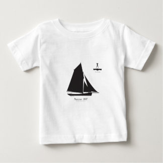 Camiseta Para Bebê 1897 Prawner - fernandes tony