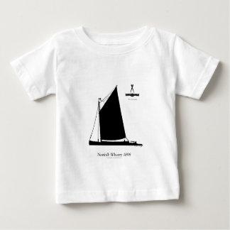 Camiseta Para Bebê 1898 balsa de Norfolk - fernandes tony