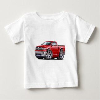 Camiseta Para Bebê 2010-12 caminhão do vermelho da ram