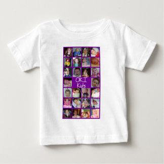 Camiseta Para Bebê 2010 miúdos de OKI
