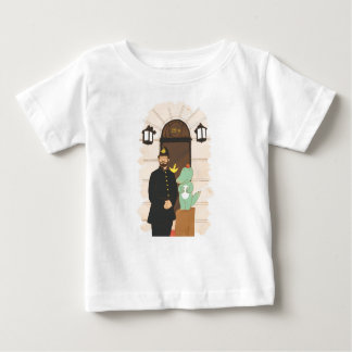 Camiseta Para Bebê 221B, ilustração bonito dos animais