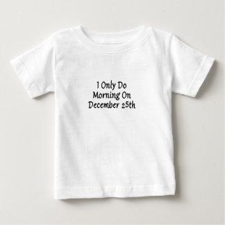 Camiseta Para Bebê 25 de dezembro
