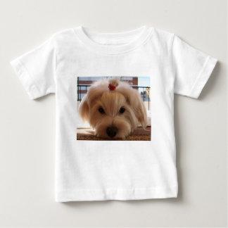 Camiseta Para Bebê 3 malteses