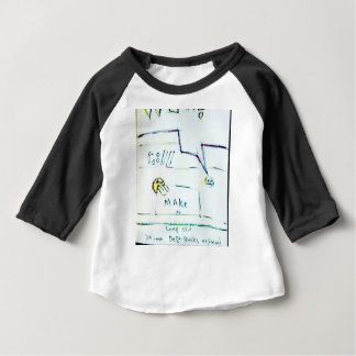 Camiseta Para Bebê 432 pessoas de todo o mundo executam para fora