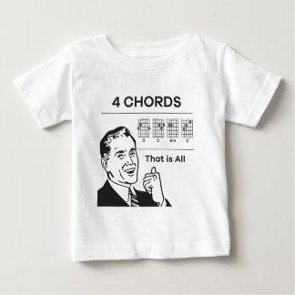 Camiseta Para Bebê 4 cordas