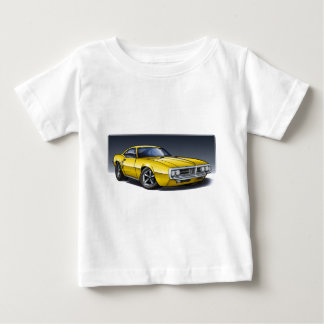 Camiseta Para Bebê 67_68_Firebird_Yellow