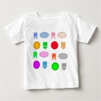 Camiseta Para Bebê 71Icons Set_rasterized