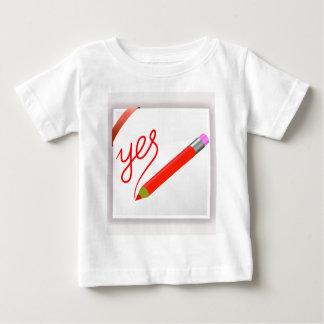 Camiseta Para Bebê 72Red Pencil_rasterized