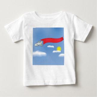 Camiseta Para Bebê 73Plane Banner_rasterized