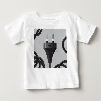 Camiseta Para Bebê 75Power Plug_rasterized