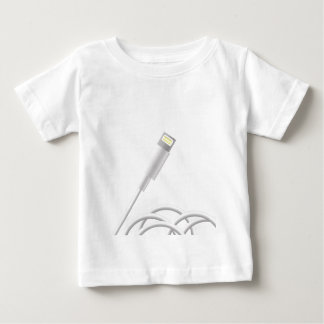 Camiseta Para Bebê 76Smart telefone Connector_rasterized