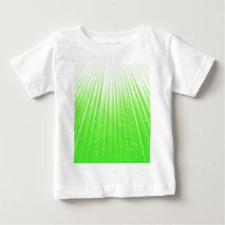 Camiseta Para Bebê 89Green Rays_rasterized