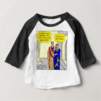 """Camiseta Para Bebê 902 Caesar """"eu farei desenhos animados de uma"""