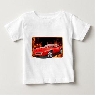 Camiseta Para Bebê 91_Red_Firehawk