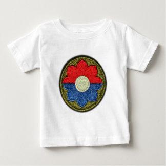 Camiseta Para Bebê 9o Veterinários dos veteranos do descobridor da