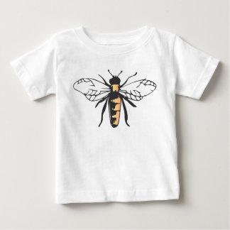 Camiseta Para Bebê A abelha do mel da abelha Bumble o Apidae da
