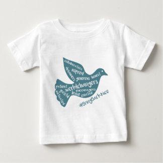 Camiseta Para Bebê A ajuda cresce o movimento ao #BringBackNice!