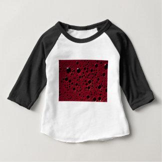 Camiseta Para Bebê A alienígena borbulha textura do Bordéus
