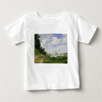 Camiseta Para Bebê A bacia em Argenteuil - Claude Monet