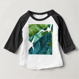 Camiseta Para Bebê A banana tropical sae do teste padrão original
