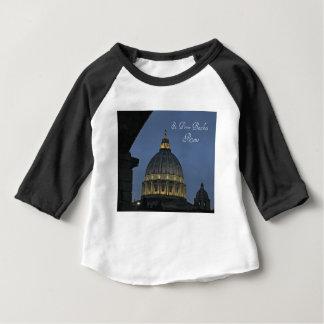 Camiseta Para Bebê A basílica de St Peter, Roma, Italia