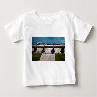 Camiseta Para Bebê A bateria de saudação