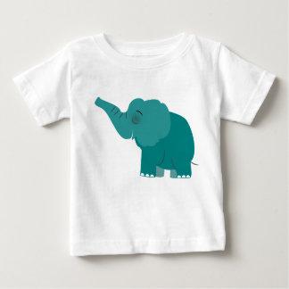 Camiseta Para Bebê A bênção bonito do elefante