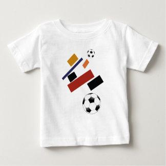 Camiseta Para Bebê A bola de futebol super, após Malevich