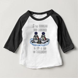 Camiseta Para Bebê À BRIGADA dos MORSE não há MANETA