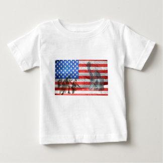 Camiseta Para Bebê A casa do escritório do patriota personaliza