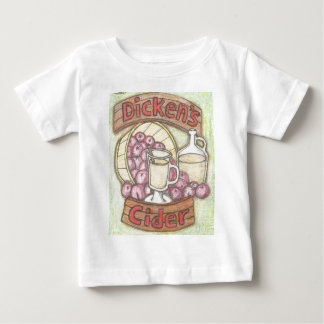 Camiseta Para Bebê A cidra de Dickens nada sente bastante como boa