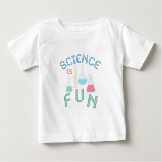Camiseta Para Bebê A ciência é divertimento