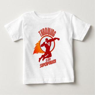 Camiseta Para Bebê a colocação disparada é minha superpotência