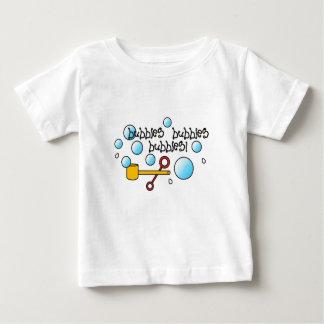 Camiseta Para Bebê A criança, bebés, meninas, borbulha parte superior