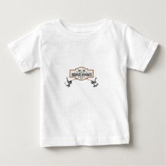 Camiseta Para Bebê a custódia 50 50 reduz o divórcio