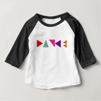 Camiseta Para Bebê A dança obstrui o T dos miúdos