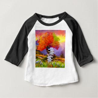 Camiseta Para Bebê A educação será sempre a base se todo o sucesso