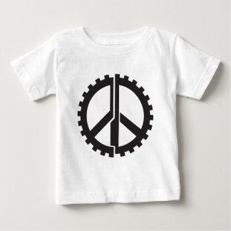Camiseta Para Bebê A engrenagem da paz da PÁGINA