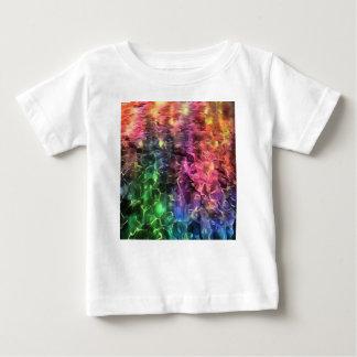 Camiseta Para Bebê A extremidade do abstrato do arco-íris