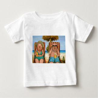 Camiseta Para Bebê A falta 2 do bacon