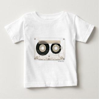 Camiseta Para Bebê A fita retro