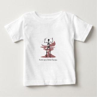 Camiseta Para Bebê A guerra nuclear é má para o negócio