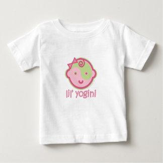 Camiseta Para Bebê A ioga fala o bebê: T de Lil Yogini