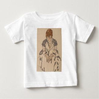 Camiseta Para Bebê A irmã do artista de Egon Schiele- na lei