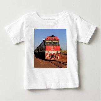 Camiseta Para Bebê A locomotiva do trem de Ghan, Darwin