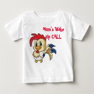 Camiseta Para Bebê A mãe acorda a CHAMADA