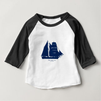 Camiseta Para Bebê A Mary Celeste 1872 por fernandes tony
