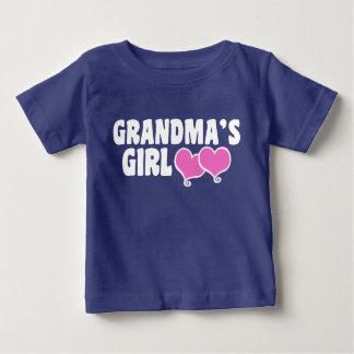 Camiseta Para Bebê A menina da avó